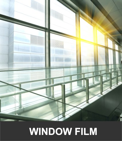Office Solar UV and Privacy Window Films