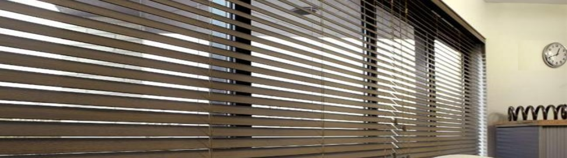 Wooden Office Blinds